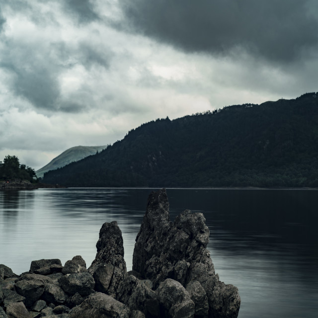 """Thirlmere Mountains"" stock image"