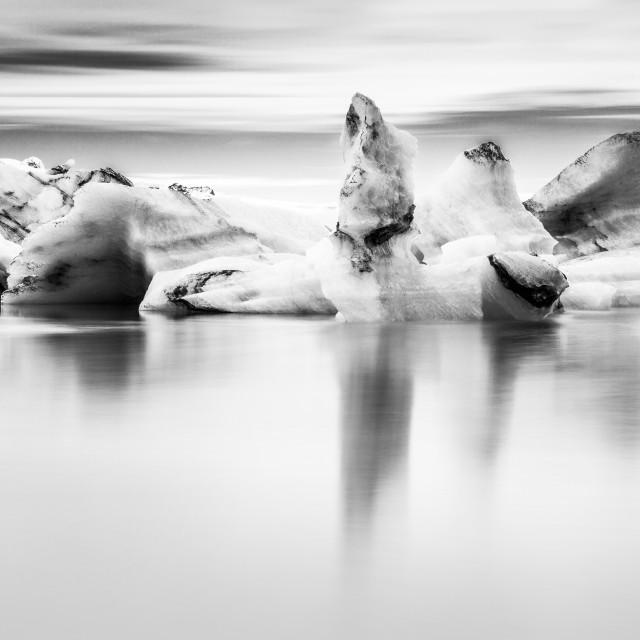 """Iceberg mono"" stock image"