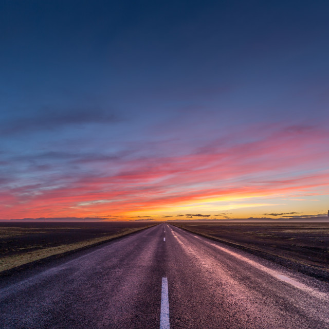 """Road to the sun"" stock image"