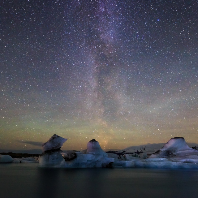 """Icy Milky Way"" stock image"