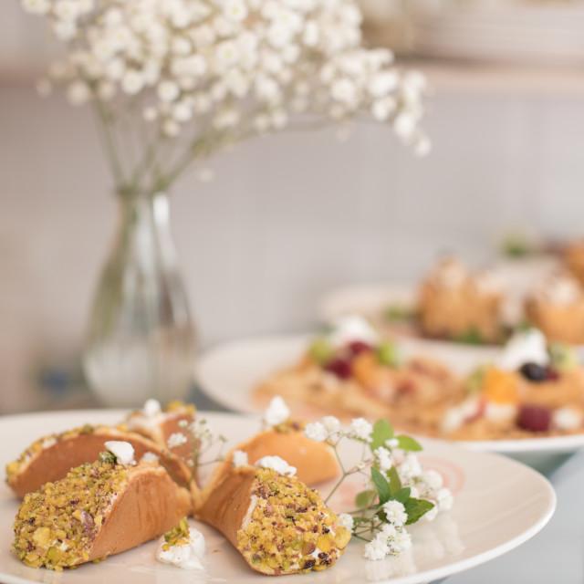 """Arabian pancakes"" stock image"
