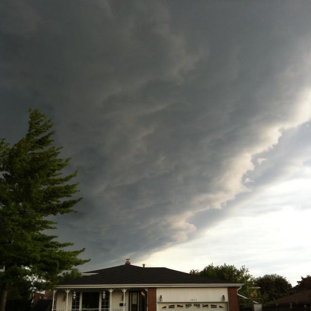 """Storm!"" stock image"