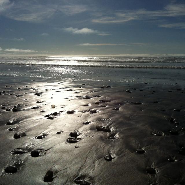 """Beach pattern"" stock image"