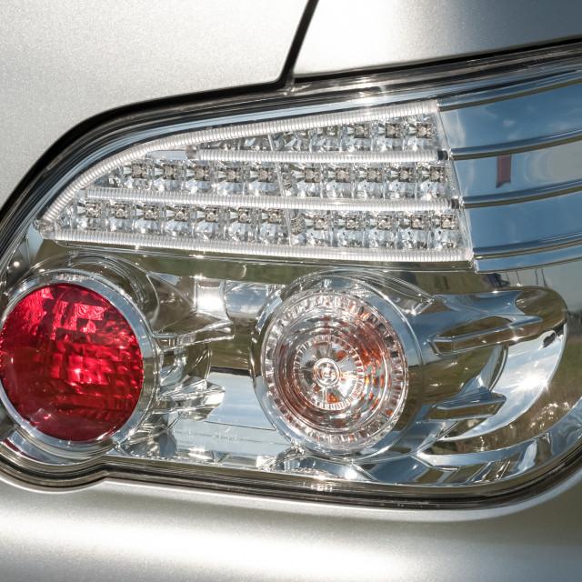 """rear auto signal light"" stock image"