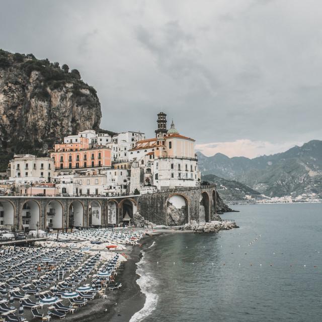 """Atrani, Amalfi Coast"" stock image"