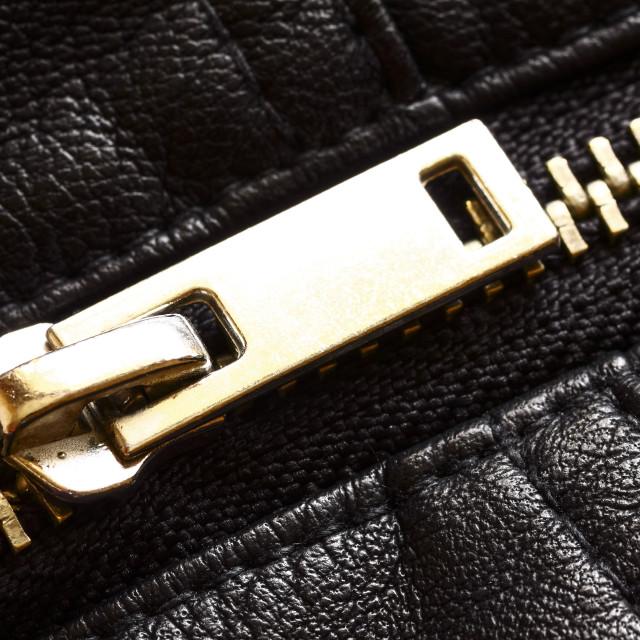 """""""Metal zip"""" stock image"""