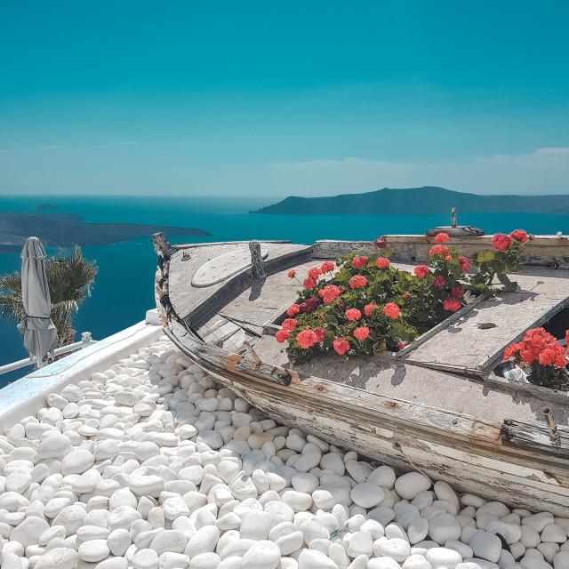 """Santorini, Greece"" stock image"