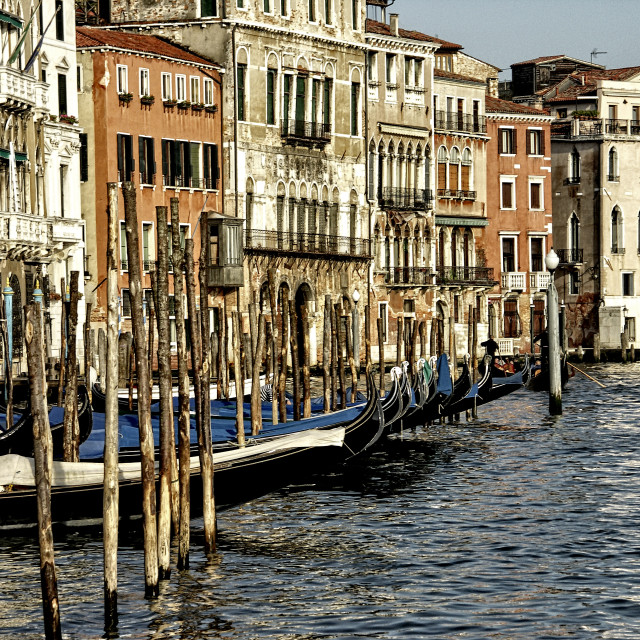 """Grand Canal, Venice"" stock image"