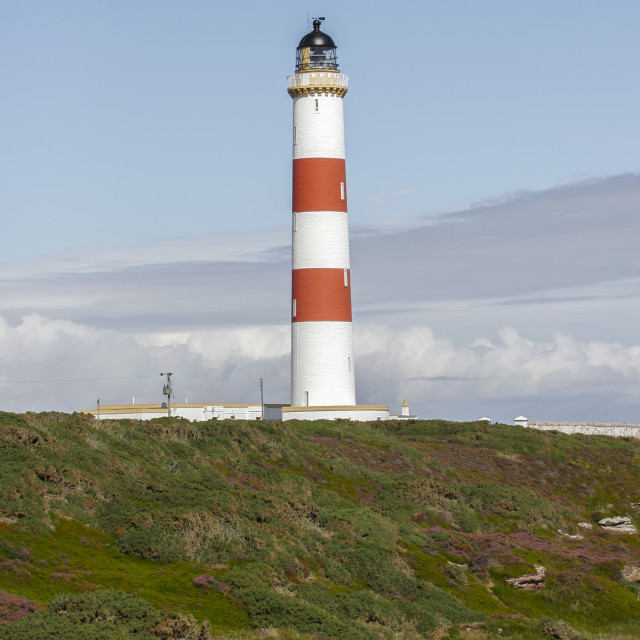 """Tarbat Ness Lighthouse"" stock image"