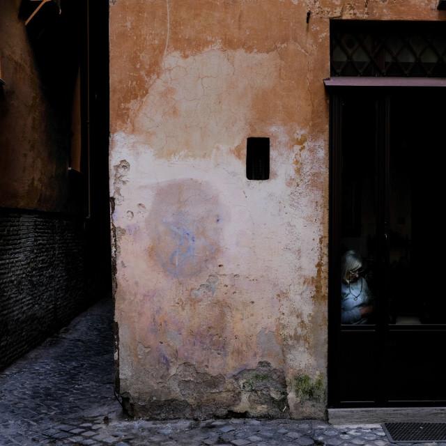 """Rome shopkeeper 2017"" stock image"