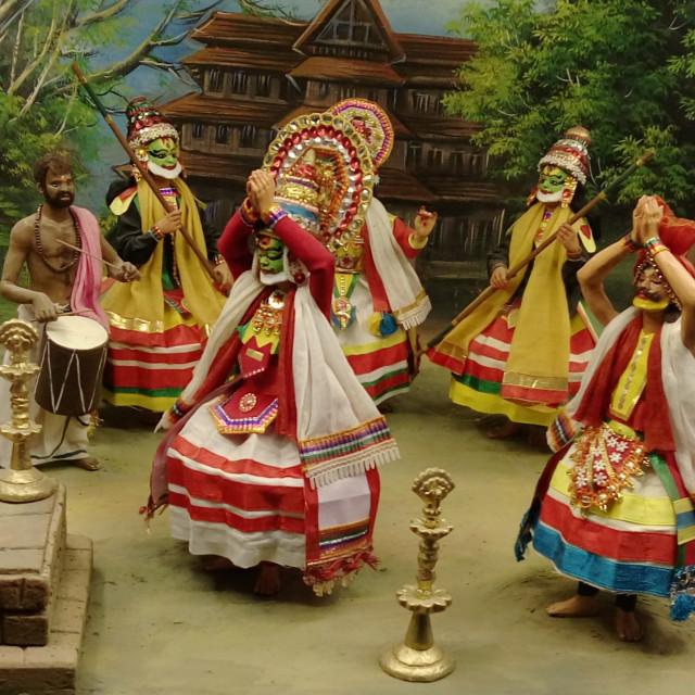 """""""Kathakali Dance"""" stock image"""