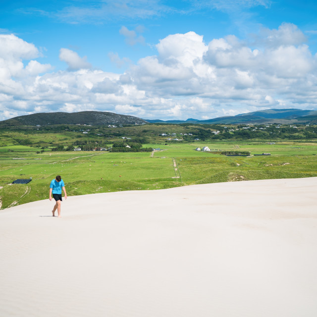 """Donegal Desert"" stock image"