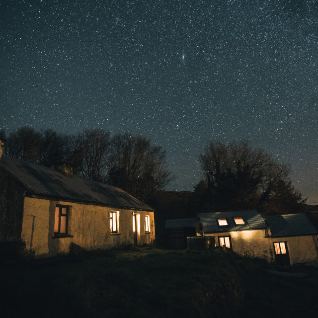 """Donegal nights"" stock image"