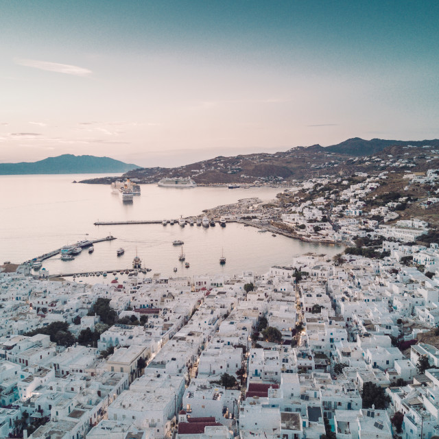 """Mykonos, Greece"" stock image"