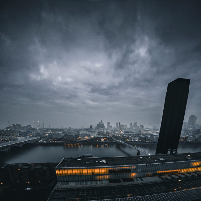 """Gloomy London"" stock image"