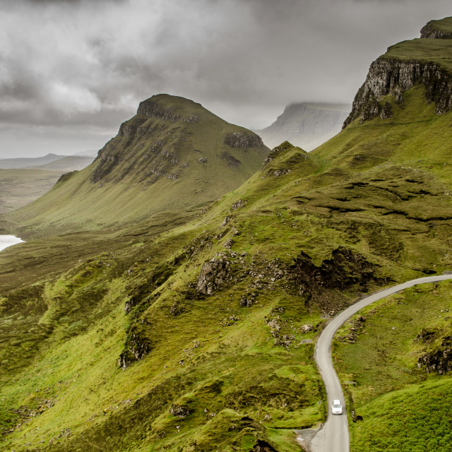"""The Quiraing, Isle of Skye"" stock image"