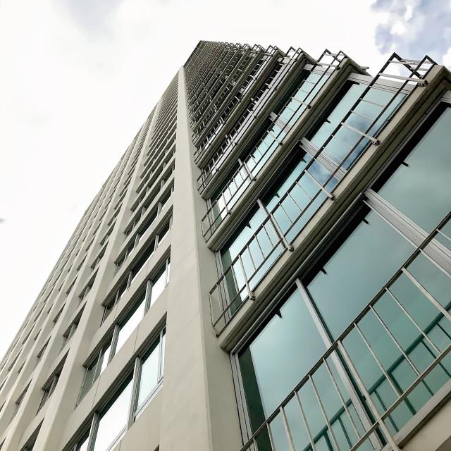 """Modern Architecture, in San Francisco, California USA"" stock image"