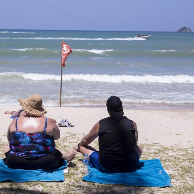 """Beach Life"" stock image"