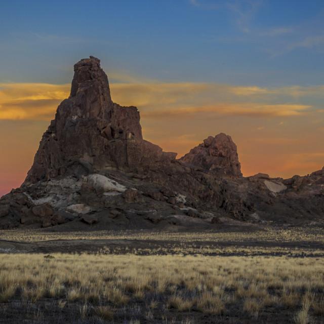 """Sunset At Barber Peak"" stock image"