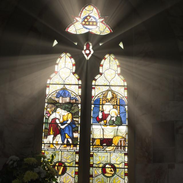 """Dunstall Church"" stock image"