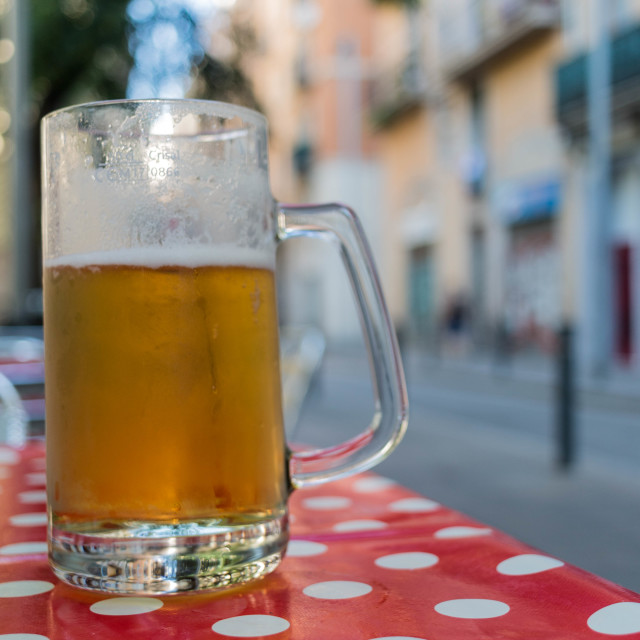 """""""Beer Time"""" stock image"""