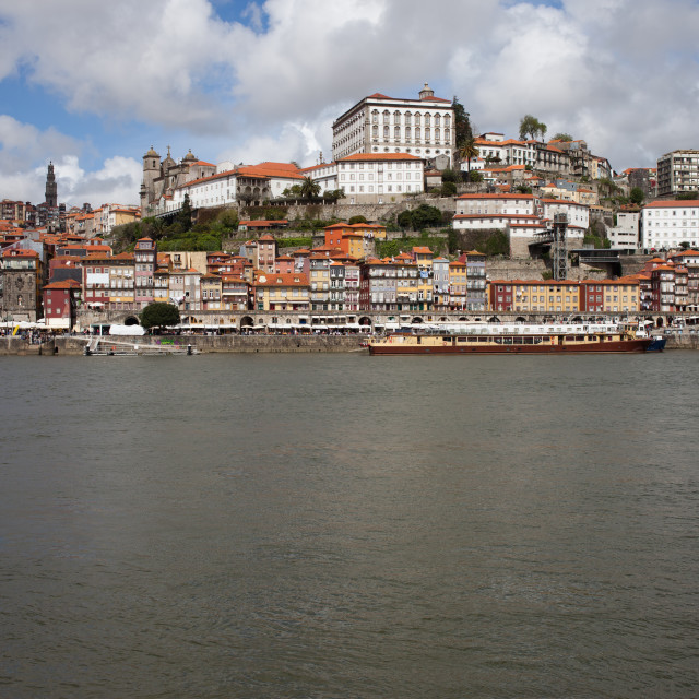"""Historic Centre of Oporto in Portugal"" stock image"