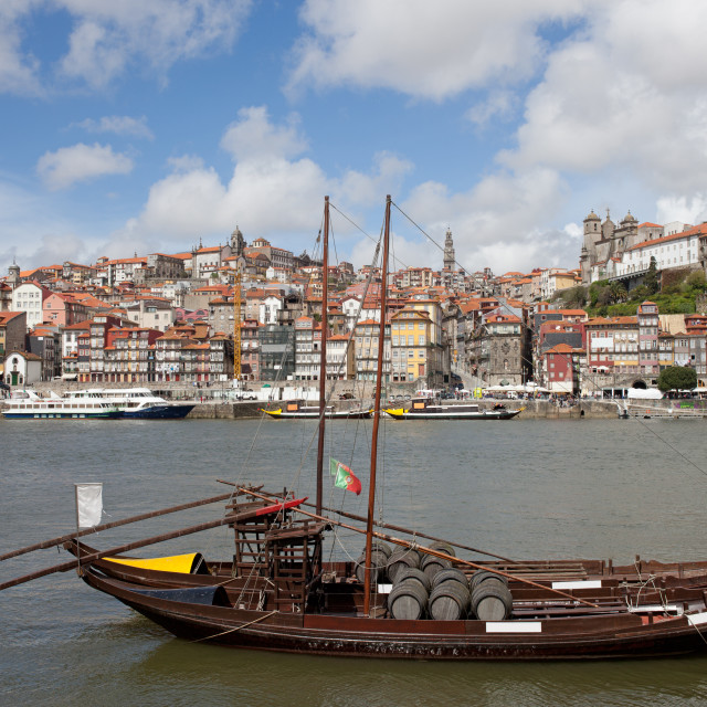 """Oporto Cityscape in Portugal"" stock image"