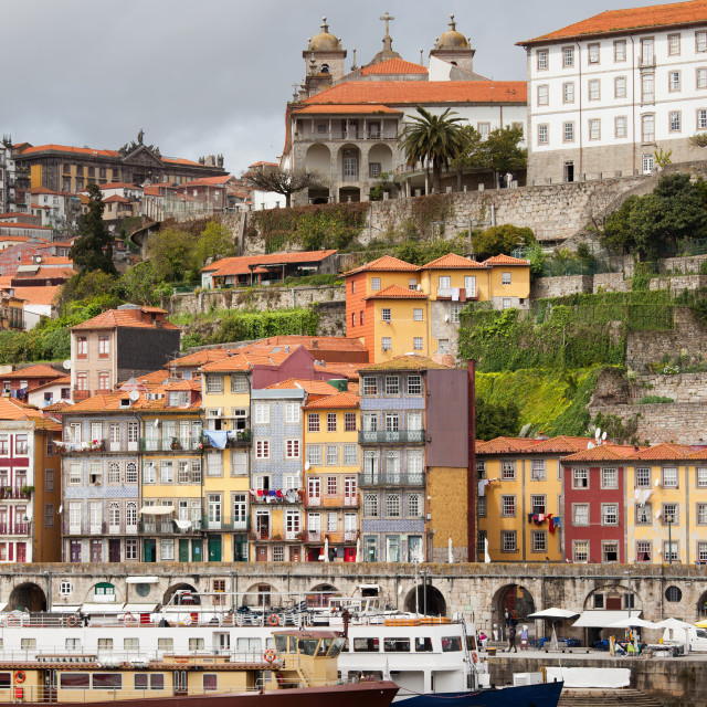 """City of Porto in Portugal"" stock image"