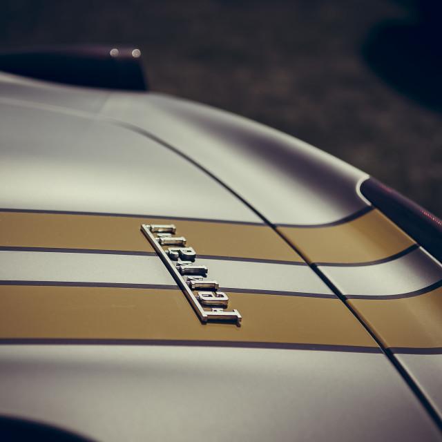 """""""Ferrari 458 spyder"""" stock image"""