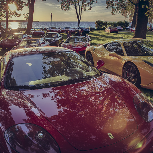 """Ferrari 360 modena"" stock image"