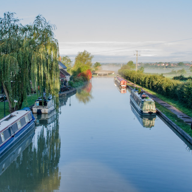 """""""Seend Lock, Kennet and Avon Canal"""" stock image"""