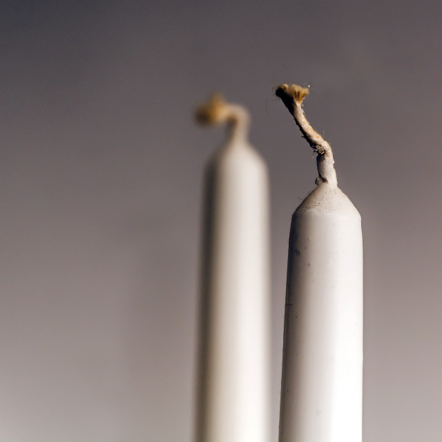 """white candle wick"" stock image"