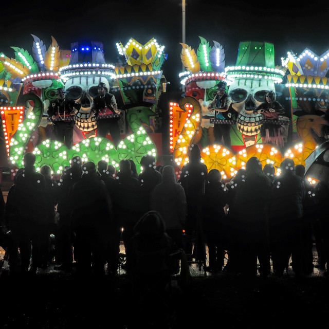 """Glastonbury Carnival"" stock image"