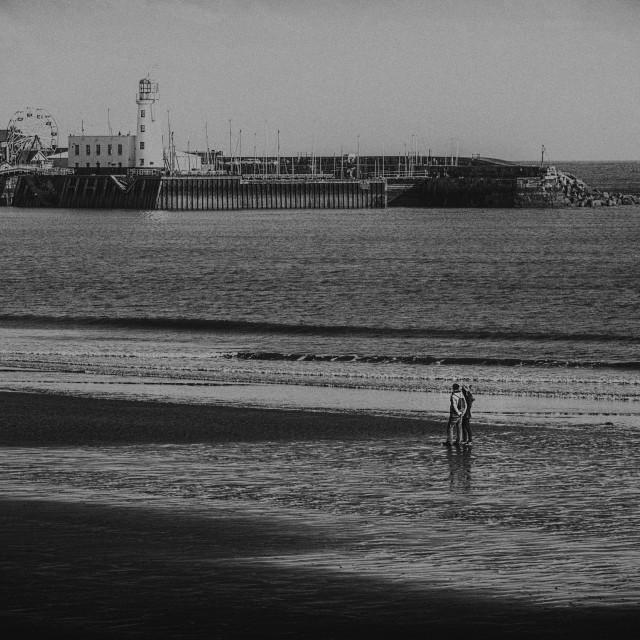"""Sea walk."" stock image"