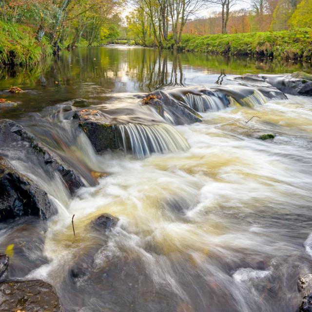 """""""Glenarm River"""" stock image"""
