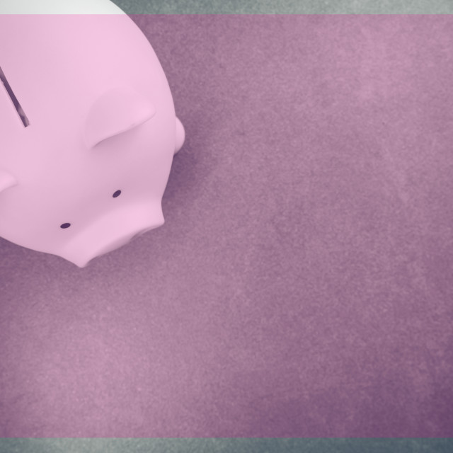 """piggy bank money saving"" stock image"