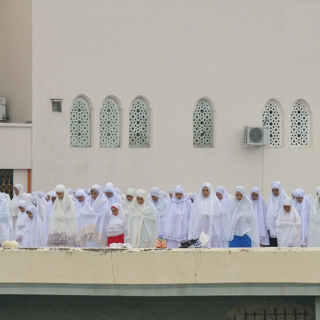 """End of Ramadan"" stock image"