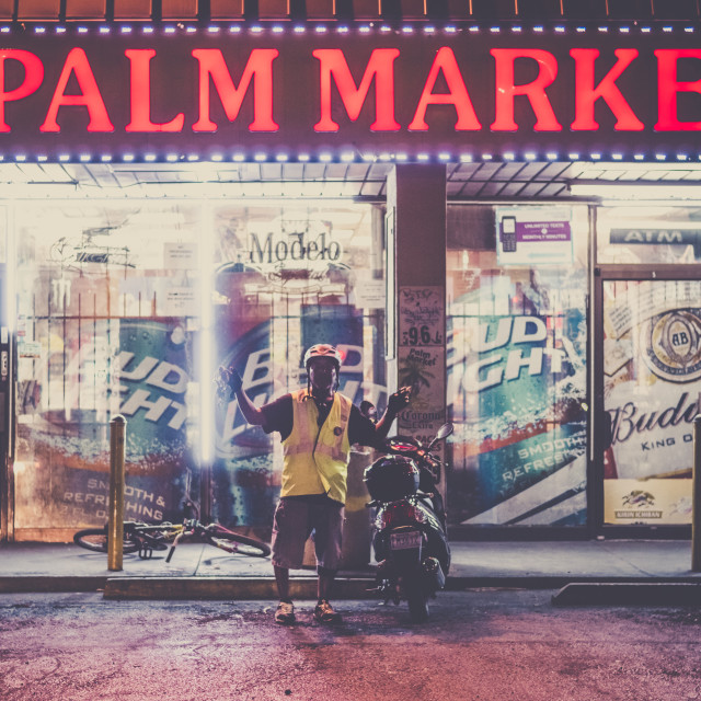 """Palm market"" stock image"