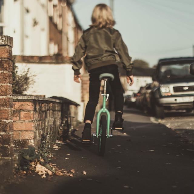 """""""Unicycle"""" stock image"""