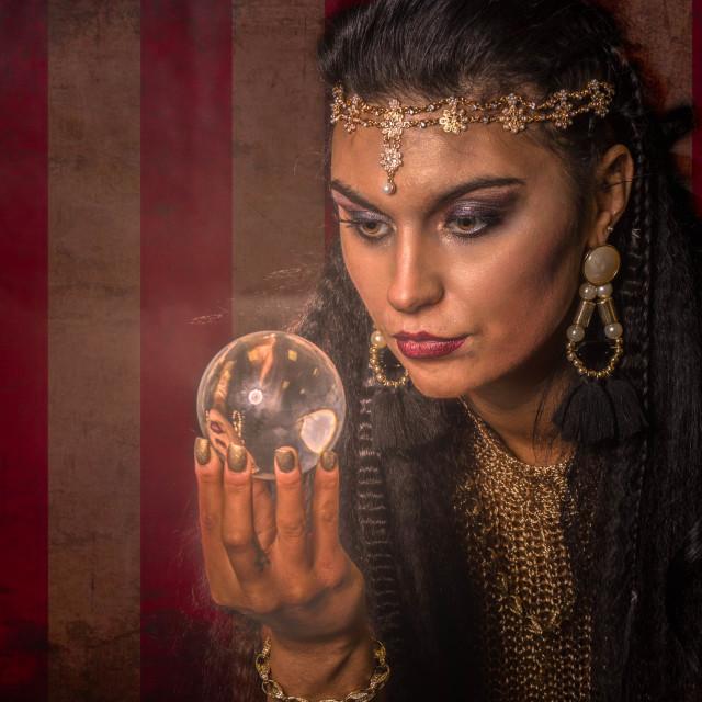 """Mystic Gypsy"" stock image"