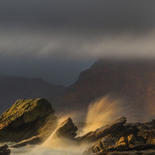 """Elgol, Isle Of Skye...."" stock image"