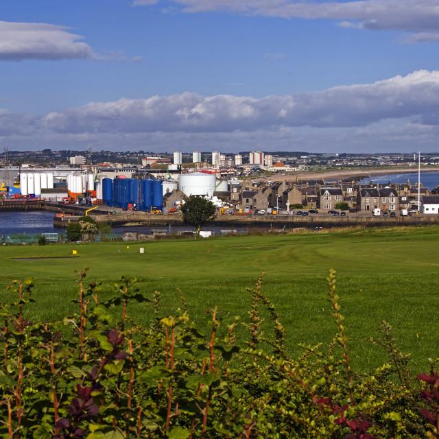"""Aberdeen Balnagask View"" stock image"