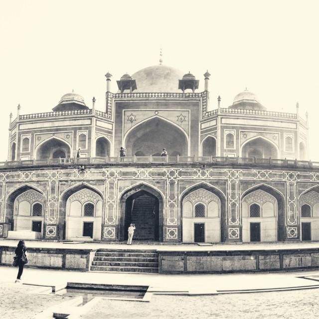 """Humayun's Tomb"" stock image"