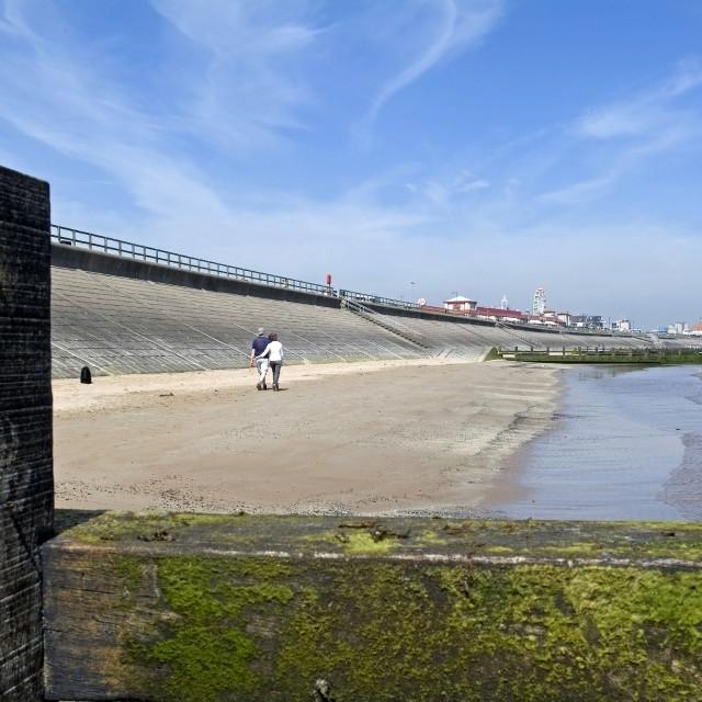 """""""Aberdeen Beach"""" stock image"""