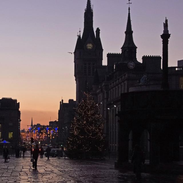 """Aberdeen Castlegate"" stock image"