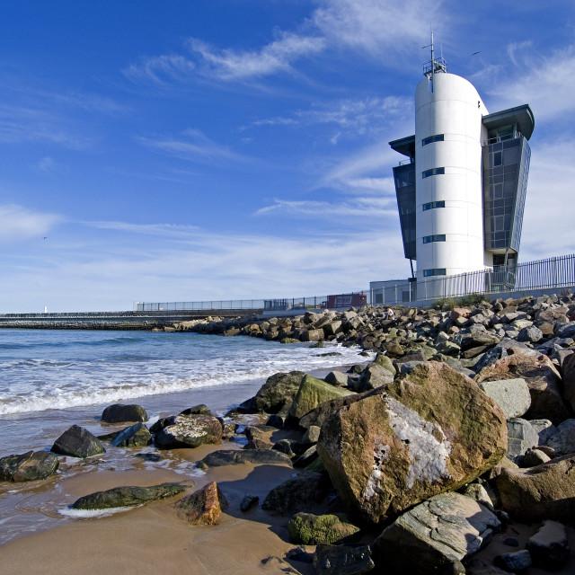 """Aberdeen Marine Centre"" stock image"