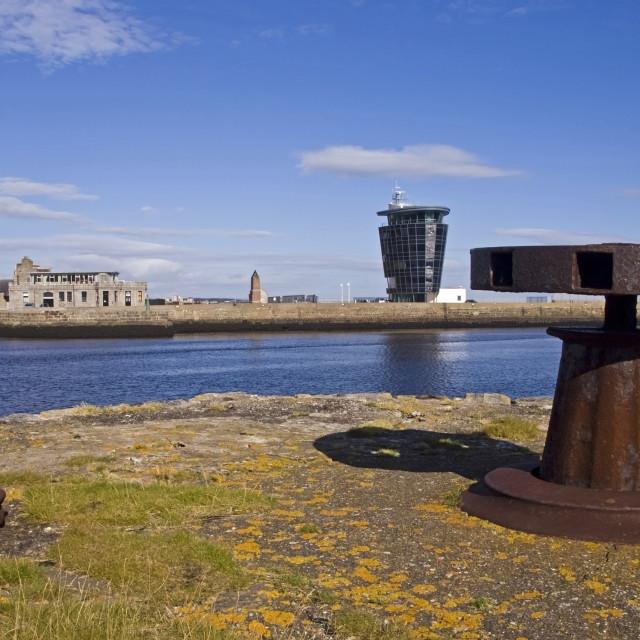 """Aberdeen Pilot Houses"" stock image"