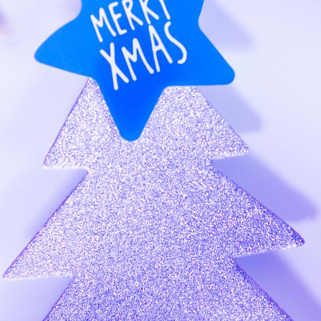 """Christmas tree decoration"" stock image"