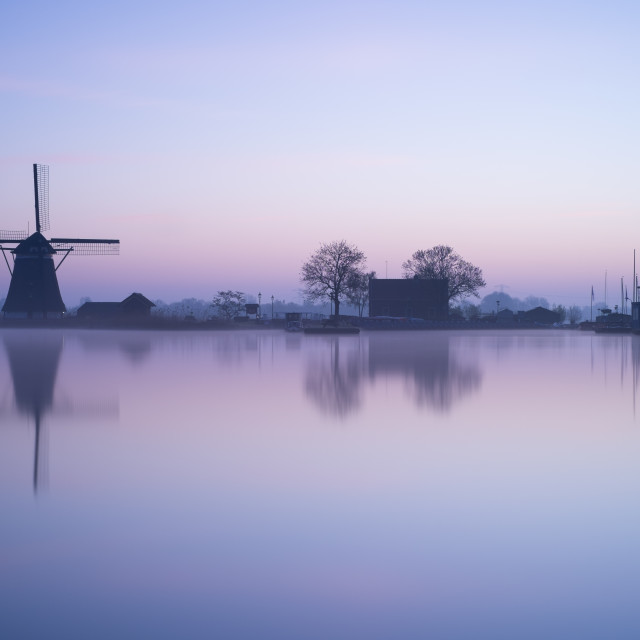 """Dawn at Rottemeren"" stock image"