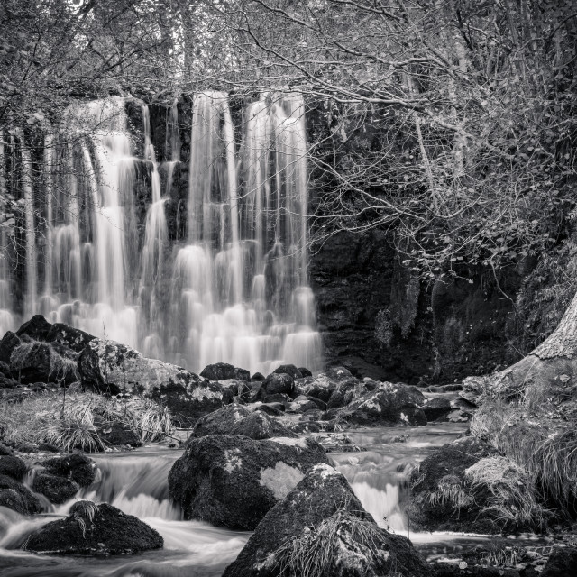 """Scale Haw Force, Hebden"" stock image"
